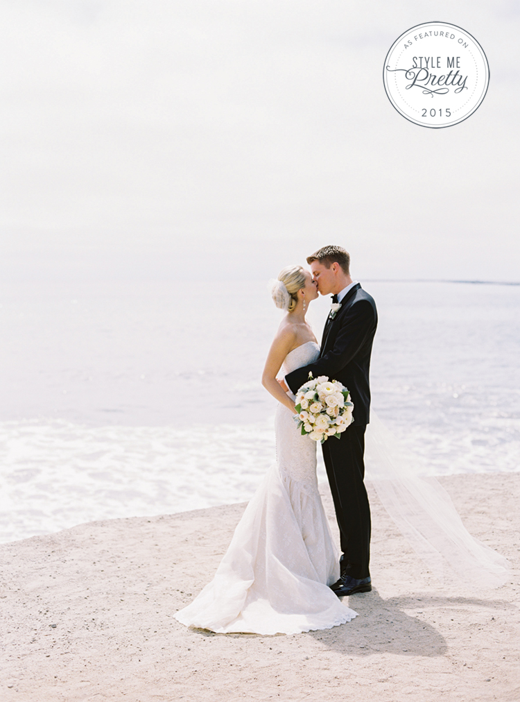 half moon bay wedding oceano black tie coast