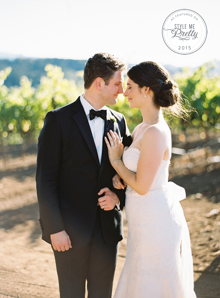 kune estate wedding sonoma wine country black tie